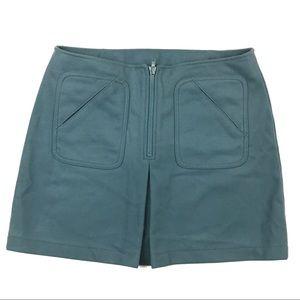 Gap Wool Mod Style Mini Skirt
